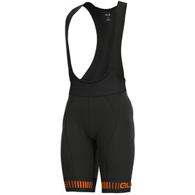 Alé Cycling PRR Strada Bib Shorts Heren, black/fluo orange